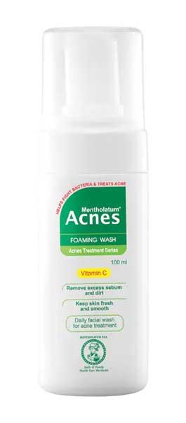 Facial Wash Yang Bagus Untuk Kulit Sensitif - Acnes Foaming Wash