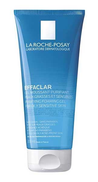 Facial Wash Yang Bagus Untuk Kulit Sensitif - La Roche-Posay Effaclar Foaming Gel