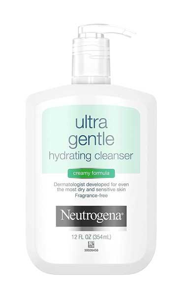 Facial Wash Yang Bagus Untuk Kulit Sensitif - Neutrogena Ultra Gentle Hydrating Cleanser