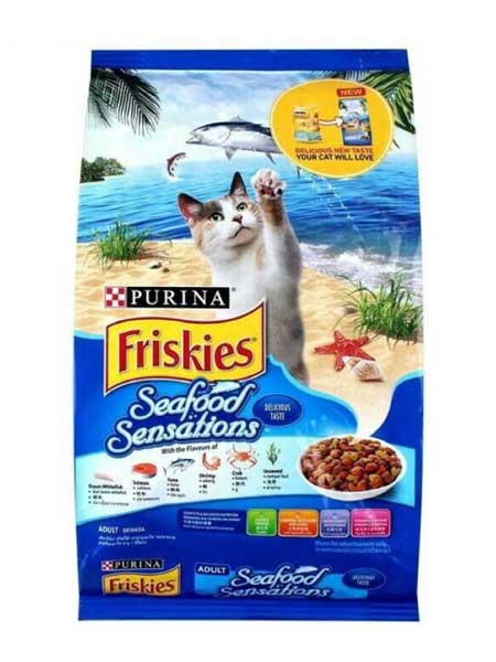 Makanan Kucing Yang Bagus - Friskies