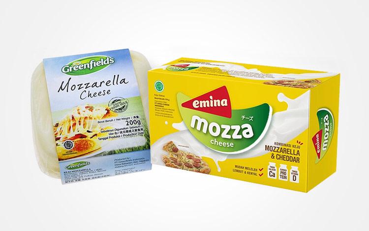 Merk keju mozzarella terbaik