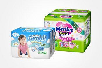 15 Merk Popok Bayi Terbaik Yang Bagus Dan Aman Untuk Kulit