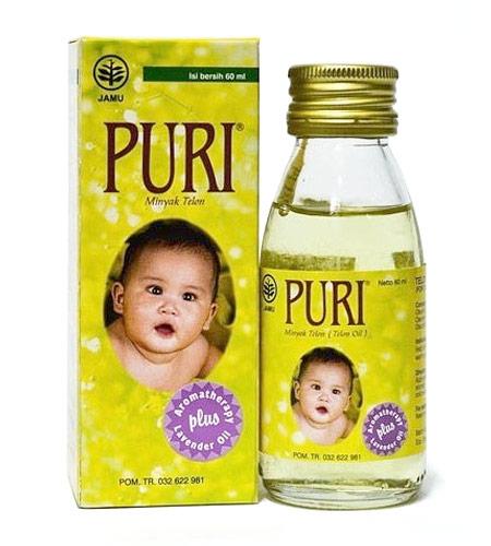 Merk minyak telon bayi terbaik