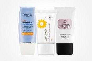 15 Merk Sunblock / Sunscreen Terbaik Yang Bagus Untuk Kulitmu